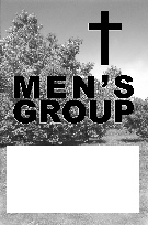 Poster for a Christian Men's Group