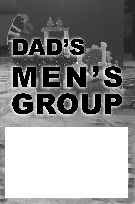 Poster for a Dad's Group